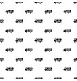 eco truck pattern seamless vector image