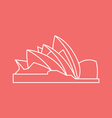 Opera House vector image