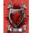 Red bull shield vector | Price: 1 Credit (USD $1)