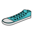 shoes young style icon vector image vector image