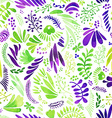 spring seamless background vector image vector image