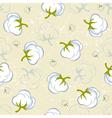 tender cotton seamless vector image vector image