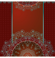arabesque frame3 vector image
