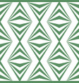 art abstract geometric light white green pattern vector image