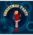 Christmas Party Design vector image