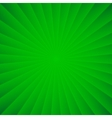 Green rays carnival background vector image vector image
