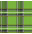 Seamless Tartan Plaid Pattern Background with vector image