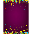 Background with colour squares vector image vector image
