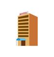 hotel isometric vector image