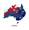 map australia vector image vector image