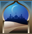 masjid vector image vector image