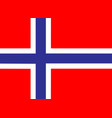 norway flag icon eps10 vector image vector image