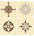 Vintage Compass Set vector image