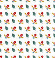 watercolor pattern vector image vector image