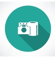 film reel and the camera icon vector image