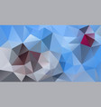 abstract irregular polygonal background blue gray vector image vector image