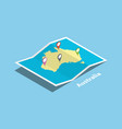 australia explore maps country nation with vector image vector image