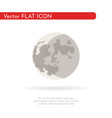 crescent moon vector image vector image