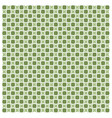 green abstract geometric seamless pattern image vector image