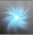 lightning vortex effect with transparency eps 10 vector image vector image