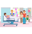 maternity hospital discharging