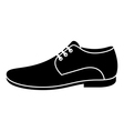 Men shoe vector image