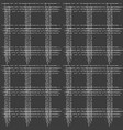seamless pattern of horizontal vertical stripes vector image