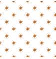 small spot of caramel pattern vector image vector image
