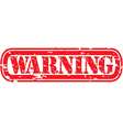 Warning Stamp vector image