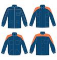 workwear jacket vector image