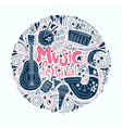 Music Festival Concept vector image vector image