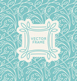 set seamless patterns in trendy linear style vector image vector image