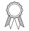 award badge icon vector image vector image