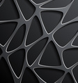 background of a mesh with triangular cells vector image vector image