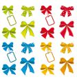 collection of ribbons for design vector image vector image
