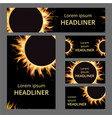 fire layout paper concept easy editable vector image vector image