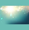 golden festive lights vector image
