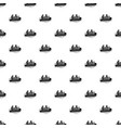 migrant family boat pattern seamless vector image vector image