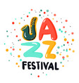 jazz sign concept vector image