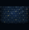 abstract polygonal pattern luxury background vector image vector image