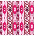 boho pink seamless pattern vector image