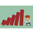 BusinessmanGraph9 vector image