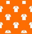 men polo shirt pattern seamless vector image vector image