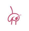 organs logo concept template internal organs vector image vector image