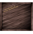 wooden box texture vector image vector image