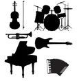 set musical instruments 02