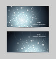 abstract geometric design banner web vector image vector image