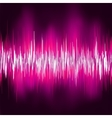 Abstract purple waveform EPS 8