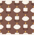 candle aroma fire burn decoration seamless vector image vector image