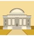 Classic Theatre Building Facade vector image vector image